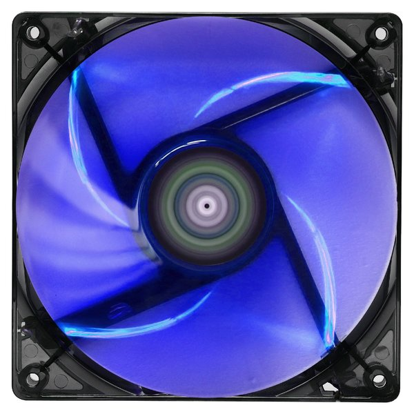 AeroCool вентилатор Fan 120mm Lightning BLUE LED - ACF3-LT10110.B1