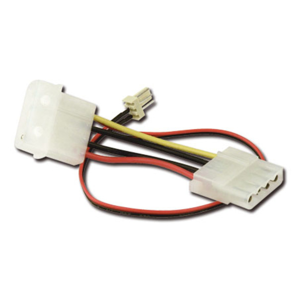 VCom Преходник Fan molex to 3pin - CE316-0.2m