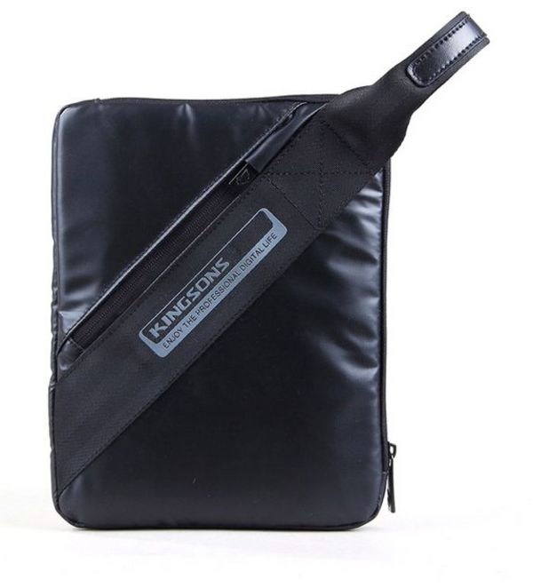 "Kingsons Tablet Bag 10.1"" K8718W :: Hangtab Series - Black"